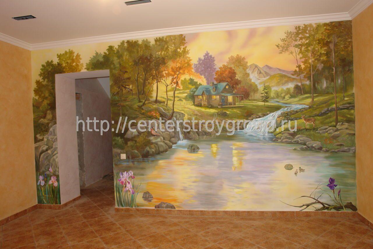 Роспись стен в гродно