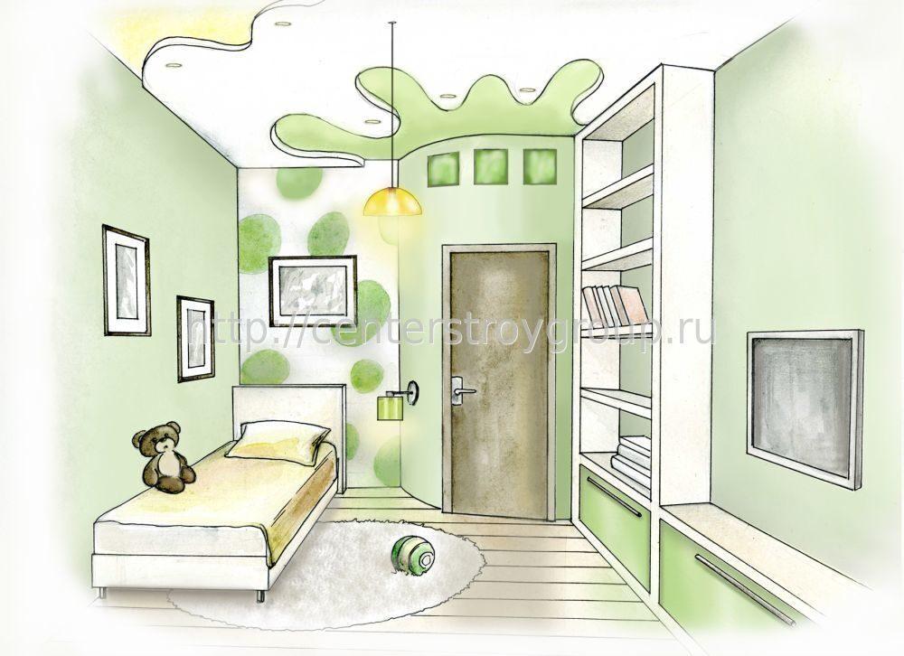 Нарисовать дизайн квартиры самостоятельно